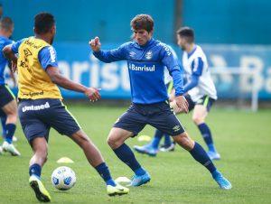 Como foi o treino do Grêmio para enfrentar Athletico-PR