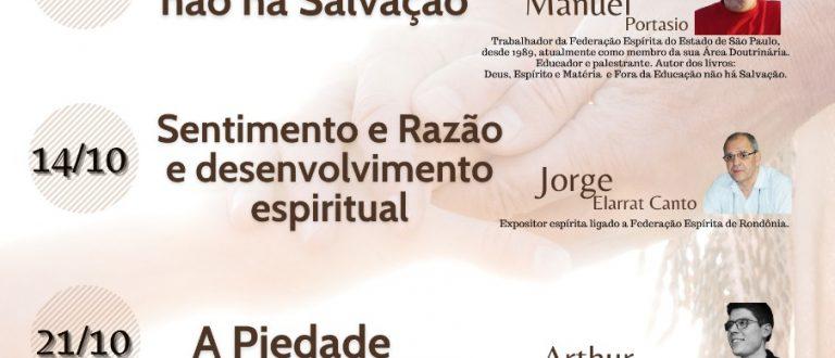 UME confirma Mês Espírita em outubro