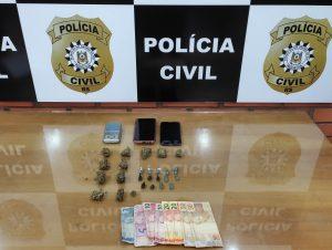 Funcap: Polícia prende homem e mulher por tráfico
