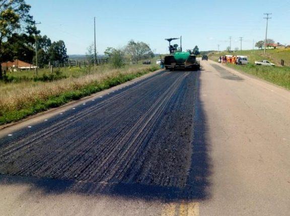 RSC-471: obras avançam em direção a Pantano Grande
