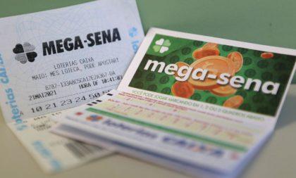 Mega-Sena: uma aposta acerta as seis dezenas