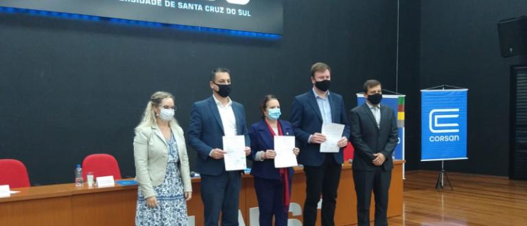 Convênio Corsan e Unisc: projeto no Piquiri promete ser solução hídrica