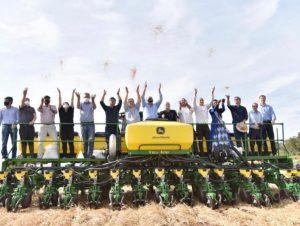Vice-governador participa da Abertura do Plantio da Soja no RS