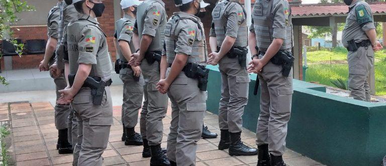 Cachoeira do Sul recebe reforço de alunos soldados