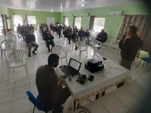 Comando Regional da Brigada Militar realiza reunião em Paraíso do Sul