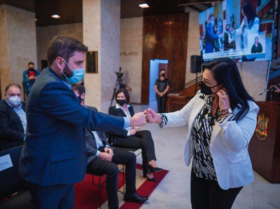 Kelly Moraes assume presidência da Assembleia Legislativa