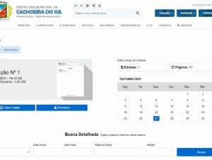 Economia de dinheiro público: Prefeitura adota Diário Eletrônico gratuito