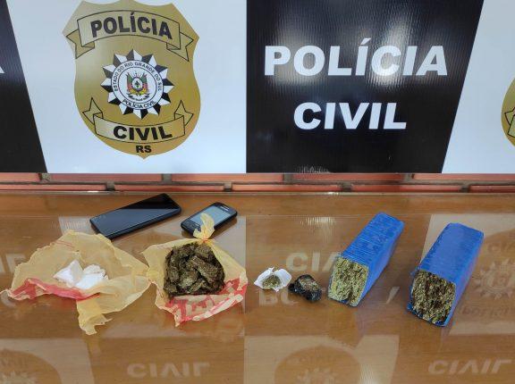 Maconha e cocaína: Polícia prende homem no Mauá