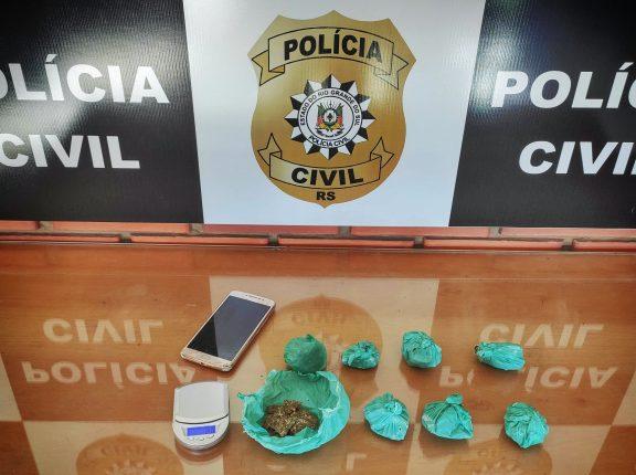 Bairro Gonçalves: Polícia prende mulher por tráfico