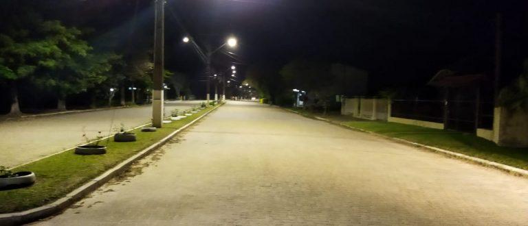 Paraíso do Sul recebe melhorias na iluminação pública