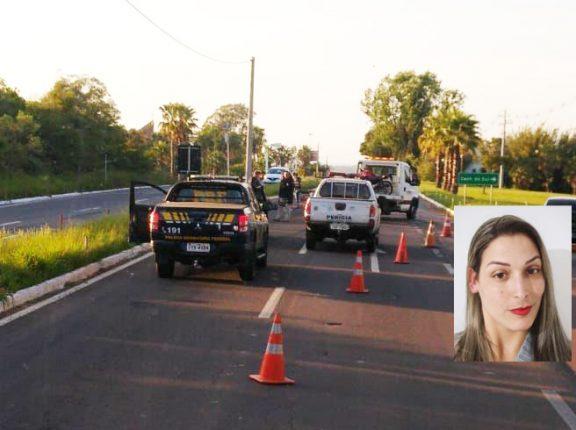 Mulher morre após colidir moto contra poste na BR-153, no Fátima