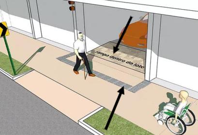 A cartilha das calçadas será cobrada para todos?