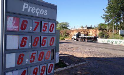 Com alta no preço dos combustíveis, motoristas puxam o freio de mão