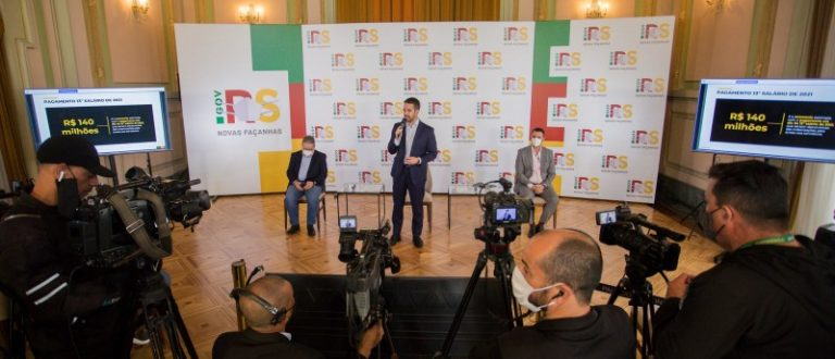 Funcionalismo estadual receberá 13º em dia e terá quitadas as parcelas de 2020