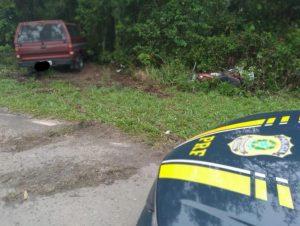 Seguia para sepultamento de familiar: motociclista de Encruzilhada morre em acidente