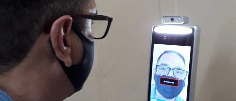 21ª Fenarroz é pioneira em controle de acesso por reconhecimento facial