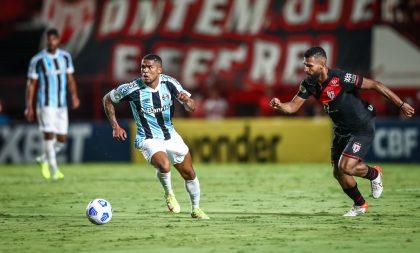 Torcida gremista segue sofrendo… Agora foi para Atlético-GO
