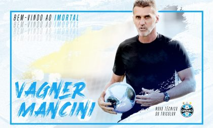 Grêmio oficializa Vagner Mancini