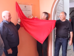 Vídeo: Centro Administrativo de Novo Cabrais recebe nome de Lourenço Edwino Scheffel