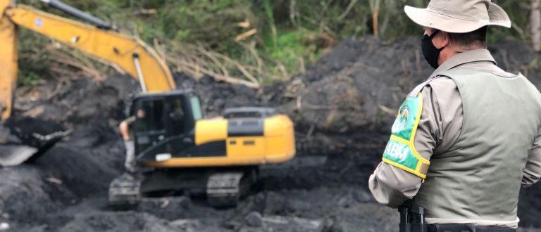 Polícia Ambiental não encontra irregularidade no trabalho da CRM no Piquiri